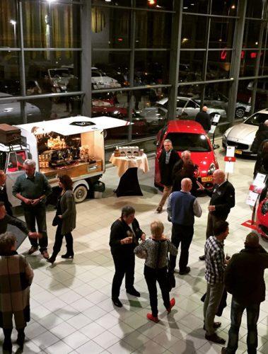 Opening KIEN (alfa romeo  jeep dealer)