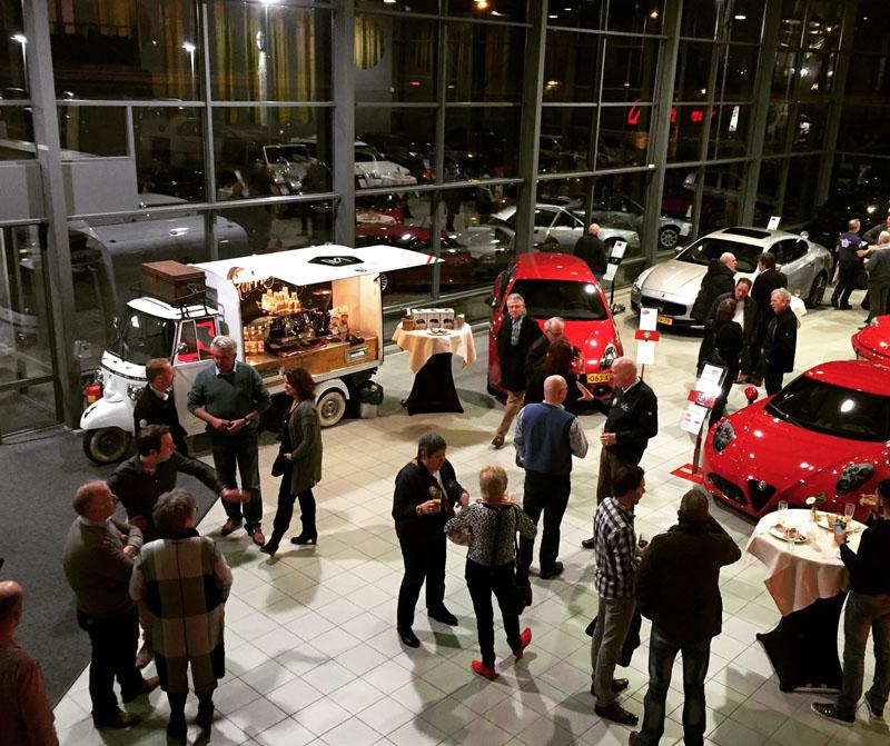 Koffie Op LocatieOpening KIEN (alfa Romeo Jeep Dealer